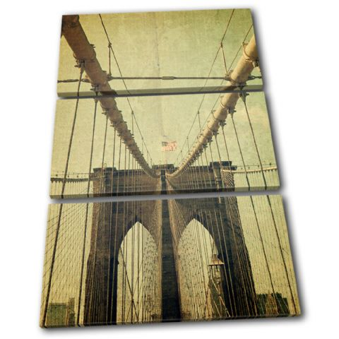 Brooklyn Bridge USA Vintage - 13-0449(00B)-TR32-PO